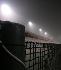 Linear frame (Rexton) Tags: light mist canada fog night warm novascotia foggy tennis halifax damp drizzle