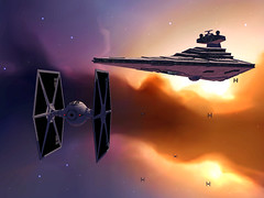 Way to home (Yo, minoría absoluta) Tags: game starwars screenshot mod homeworld warlords ssd