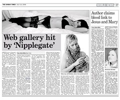 Nipplegate (storem) Tags: newspaper flickr sunday times rebekka solea sundaytimes epaper interestingness52 i500 nipplegate