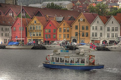 Bryggen HDR (R.Duran) Tags: norway buildings norge nikon europa europe harbour d70s noruega bergen woodenhouse bryggen hdr 100vistas sigma18200mm 1xp tthdr
