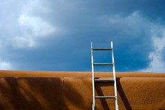 Ladder (Hal Bergman Photography) Tags: newmexico santafe adobe ladder nm