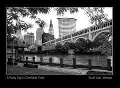 Cleveland in shades of gray