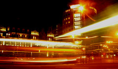 citysquare09b&Ccrop (proughan) Tags: light bus delay traffic time leeds