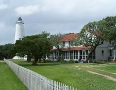 Ocracoke Island Light - by greenkayak73