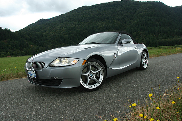 auto car convertible german bmw z4 purcell roadster bimmer matsqui ©2006russellpurcell ©russellpurcell russpurcell russellpurcell