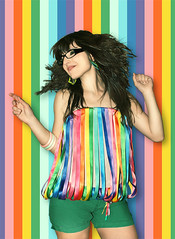 Raquel (Ram!) Tags: madrid fashion canon rainbow friend colorful venezuela raquel colourful ram ramfotografia