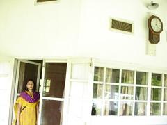 Clock and girl. (Hassan from Bangladesh) Tags: estate tea sylhet bangladesh