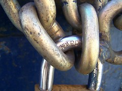 hard (eightprime) Tags: dumpster lock creativecommons