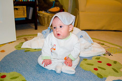 After his Bath (Christomopher) Tags: family baby aiden pollock