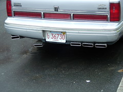 cambridge car boston massachusetts ricer lincolntowncar exhausttips