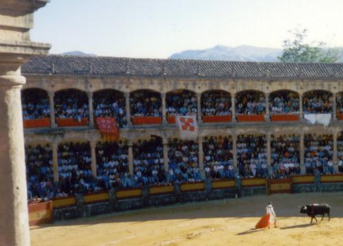 Plaza de toros en Ronda