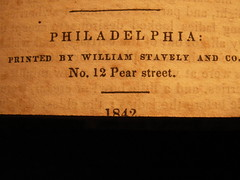 1842 (Mamluke) Tags: old philadelphia sepia vintage paper buch religious typography book words boek alt text 19thcentury libro number edge page nombre pear font baptist 12 papel numeral papier viejo livre oud carta mots cru palabras nmero vieux printers numero parole vecchio tract vendimia religioustract pamphlets 1842 texte woorden wrter no12 annata zahl uralt aantal mamluke ziffer pearstreet williamstavely wijnoogst