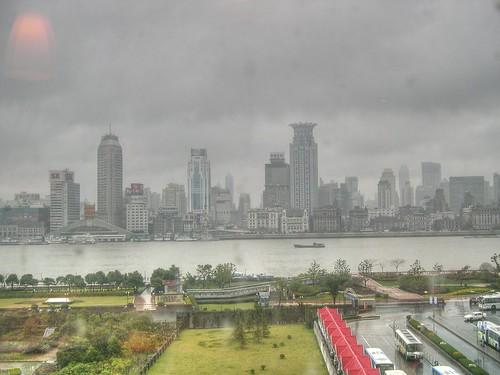 Vista panorámica de Shangai
