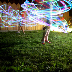hoopshoes (sgoralnick) Tags: party backyard bbq hoopers hulahoop eeva maricar swirlgirls themostwelldocumentedpartyever