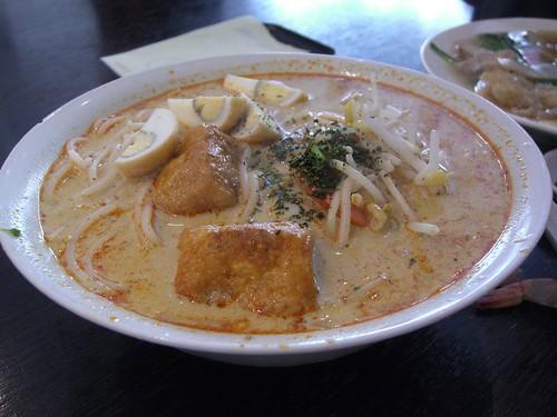laksa pahang. singapore laksa recipe
