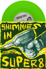 Shimmies in Super 8 - Front (Squid Ink) Tags: stereolab daftpunk huggybear seveninchsingle
