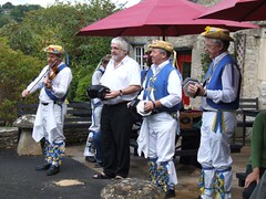 Band @ The Crown, Frampton Mansell (Lester of Wendover) Tags: thames valley morris concertina dipper cotswold melodeon withington tvmm cheddington daneway
