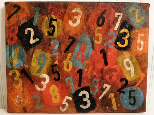Numbers by mollycakes, on Flickr