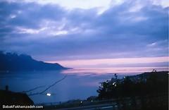 In Switzerland, the Geneva lake is a beauty
