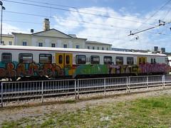 train graffiti, Ljubljana (duncan) Tags: traingraffiti ljubljana train graffiti