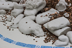 Michael Dean, Turner Prize 2016 Exhibition, Tate Britain, London (IFM Photographic) Tags: img4274a canon 600d ef2470mmf28lusm ef 2470mm f28l usm lseries pimlico london westminster cityofwestminster city tatebritain tate artgallery turnerprize2016 turnerprizeexhibition sicglyphs2016 unitedkingdompovertylinefortwoadultsandtwochildrentwentythousandfourhundredandthirtysixpoundssterlingaspublishedon1stseptember2016 michaeldean