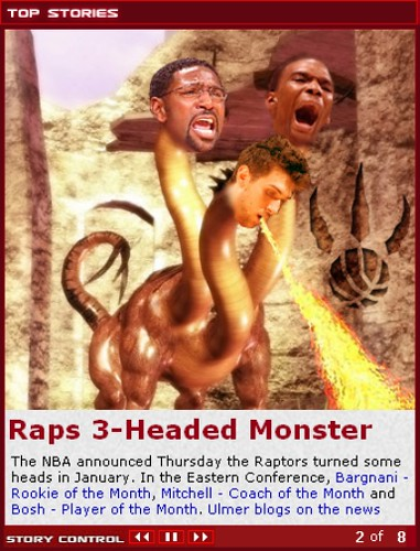 3-headed monster