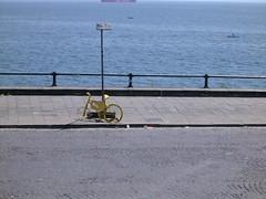neapolitan cycle (Kliò) Tags: campania napoli lungomare bicicletta fotoincatenate