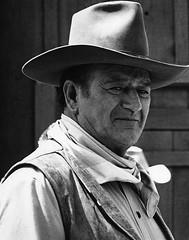 "Photography homage, Sam Shaw, John Wayne, ""Rio Lobo"" set, 1970, Old Tucson, Arizona (David Lee Guss) Tags: rio john photo oscar sam wayne lobo homage shaw truegrit cinematographerwilliamclothier oldtucsonarizona davidleeguss"