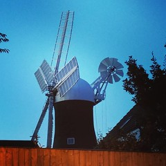 Lovely view of Holgate Windmill from Acomb Road
