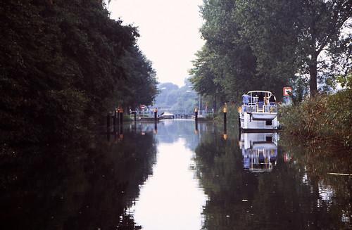 Hausboottour (82) Barkower Schleuse