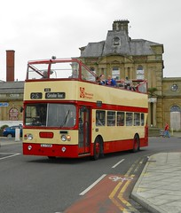 Just like old times. (Renown) Tags: bus tour transport corporation topless preserved alexander southport doubledecker preservation leyland merseyside opentop atlantean mpte olv551m merseysidetransporttrust
