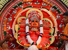 MOMENTS OF ECSTASY (GOPAN G. NAIR [ GOPS Creativ ]) Tags: photography folk performance folklore kerala ritual tradition hindu gops theyyam gopan bhagavathi gopsorg gopangnair gopsphotography