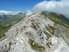 Escursionismo Gran Sasso - via CAI Penne alle Torri di Casanova