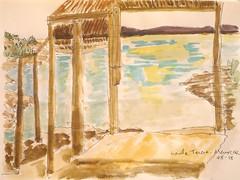 Menorca.Santa Terersa.08-15 (joseluisgildela) Tags: sketchs watercolors menorca playas acuarelas sonbou carnetsdeviaje