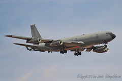 Israeli Air Force KC-707 (JetImagesOnline) Tags: red force flag aircraft air jet boeing 707 base israeli tanker idf 154 afb nellis kc707