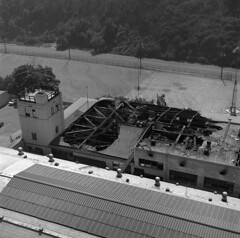 Naval Training Center fire aftermath photos