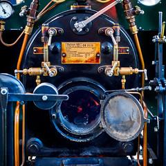 244/365: Steam Engine (haslo) Tags: modern fire schweiz switzerland pipes engine running olympus steam machinery bern valves omd steampunk em1 gurten project365 115in2015