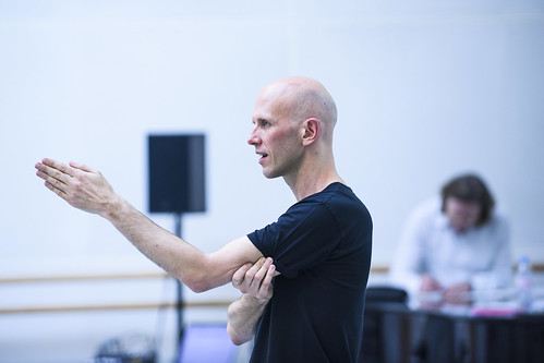 Join Wayne McGregor as he rehearses his new ballet.