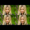 sis (ellevalenok_photography) Tags: green girl beautiful collage ilovegreen
