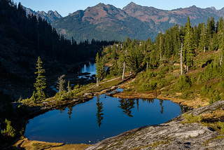Heather Meadows. Mount Baker, WA.