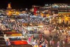 Marrakech Evening (MBSBrito) Tags: africa market muslim mercado morocco maroc marrakech marrocos