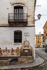 Font del mig (lumior) Tags: espaa rural calle pueblo fuente comunidadvalenciana agres