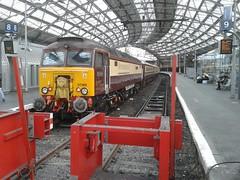 DRS 57 305 (captaindeltic55) Tags: train railway loco trains pullman liv locomotive railways passengertrain drs wcml liverpoollimestreet class57 57305 directrailservices northernbelle