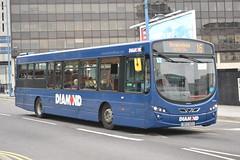 Rotala Group Blue Diamond 30943 BK13NZU (Will Swain) Tags: city uk travel blue england west bus buses birmingham october britain centre transport group diamond 16th midland midlands 2015 rotala 30943 bk13nzu