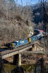 Santa Train Clinchco, Va.- (Vince Hammel Jr) Tags: railroad trains csx clinchfield