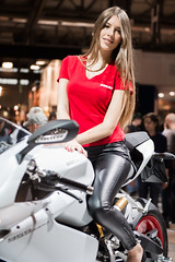 FRA_9461 (francescomauro19931) Tags: girls sexy girl beautiful milano motorbike babes moto fiera rho 2015 eicma eicma2015