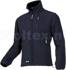 Workwear Sioen (Woltex) Tags: male dynamic packshot fleece ils bk tortolas b95 443z coldwindprotection