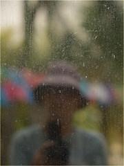 Me. (marneejill) Tags: portrait reflection window self dirty selfie