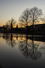 Sennestadt Sonnenuntergang (*oO Dani Oo*) Tags: sonnenuntergang teich bielefeld sennestadt