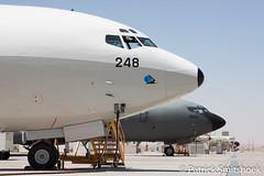 KC-707's (patriXtreme) Tags: boeing 707 tanker 248 idf airbase 264 israeliairforce nevatim kc707